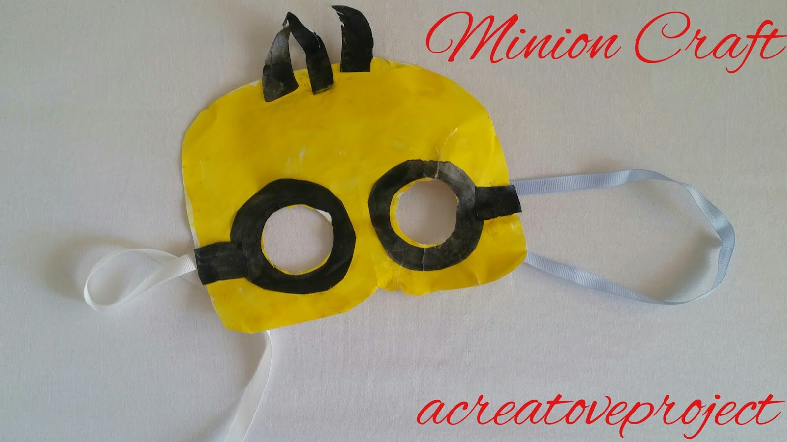 Pics for minion printables mask for Minion mask template