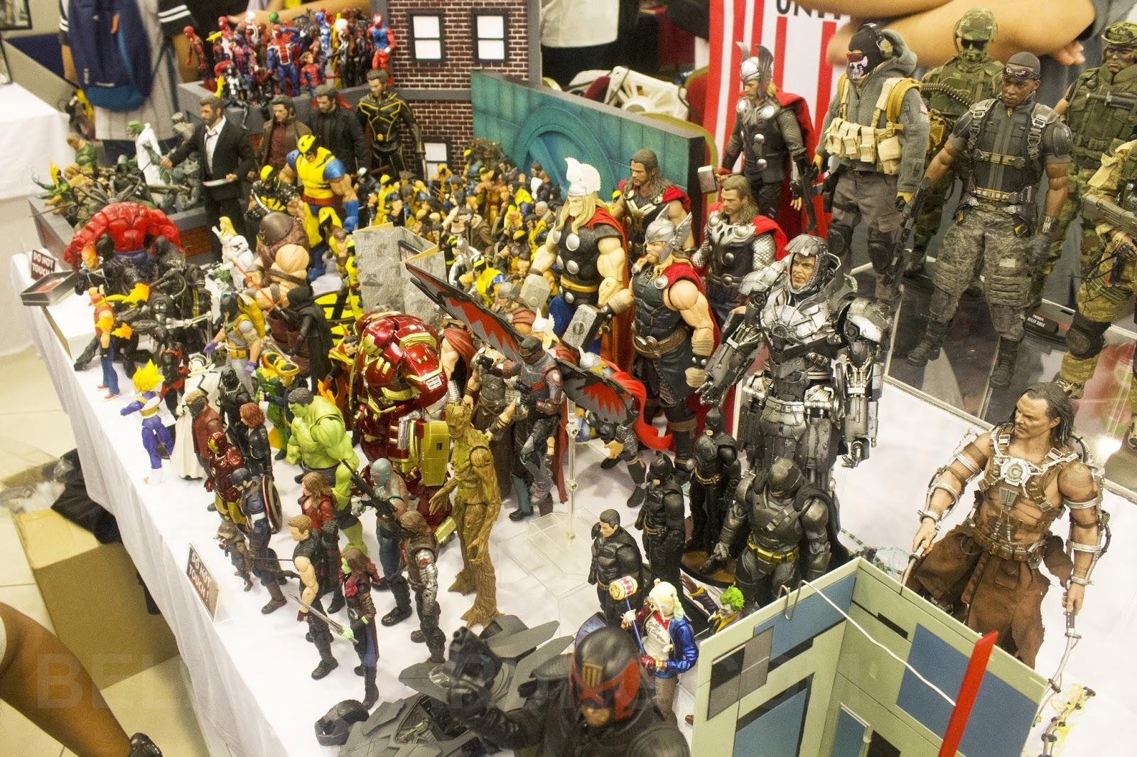 Pengalaman Di Collectors Toy Fair Kuala Lumpur CTFKL4 2018