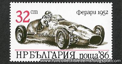 Ferrari 1952 Stamp