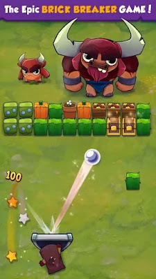 brick breaker hero hile apk indir