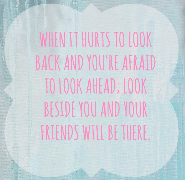 Friends will be there quote