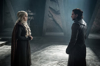 Jon Snow and Daenerys Targaryen final scene