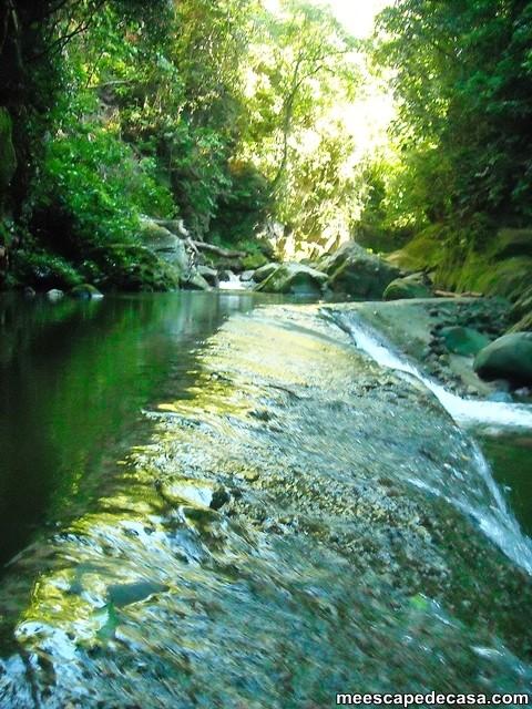 Bocatoma del río Shilcayo (Cordillera Escalera, Perú)