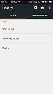 Flashify app