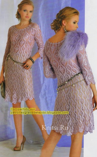Vestido corto de gala