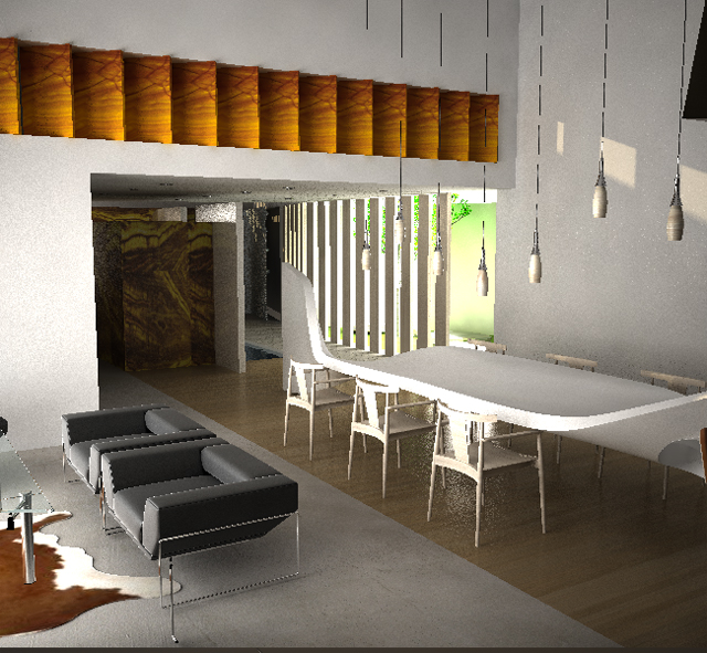 The 5th architecture and interior design awards to the - Rhythm in interior design ...