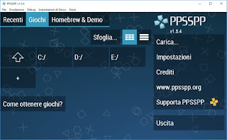 emulatore PPSSPP