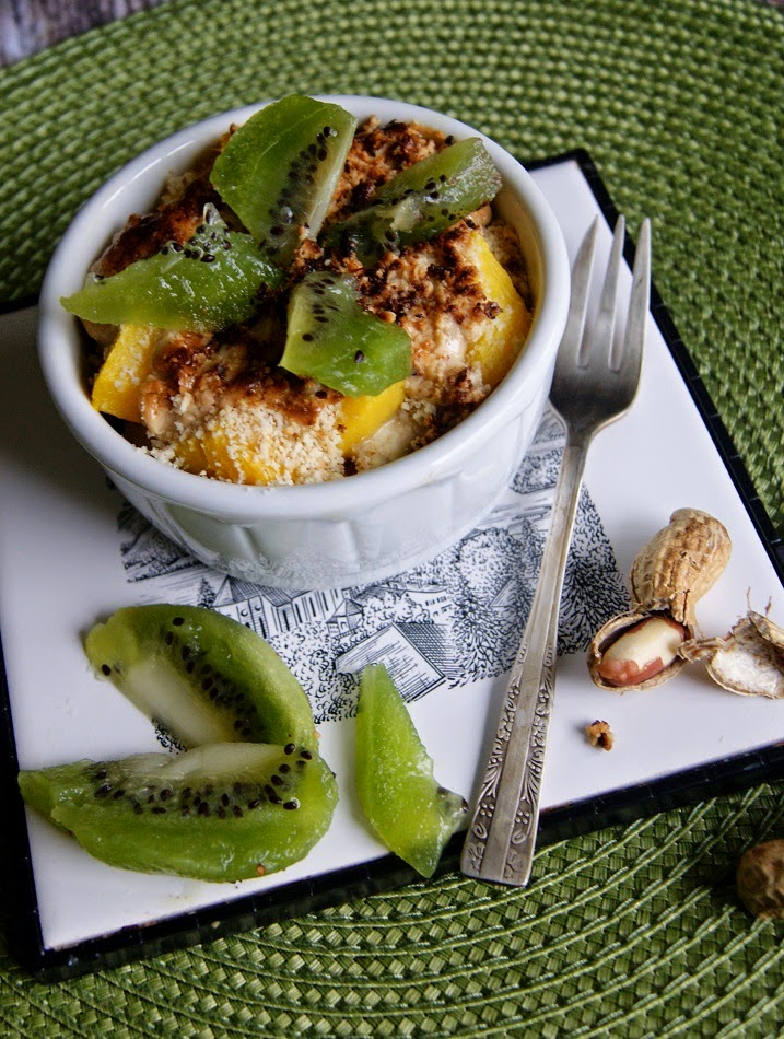 owoce zapiekane w kokilkach