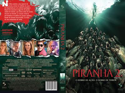 Filme Piranha 2 2012 DVD Capa