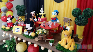 Decoração de festa infantil Mickey