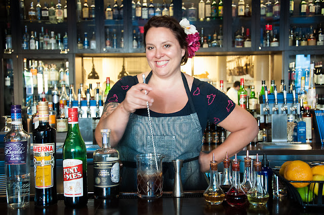 Abigail Gullo, bartender at Compère Lapin in New Orleans