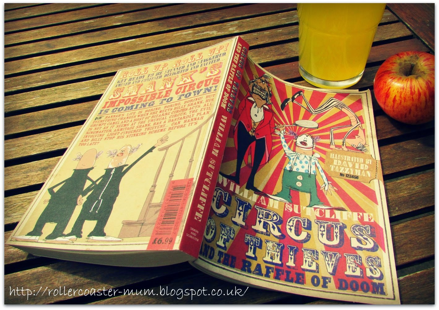 Book review of Circus of Thieves and the Raffle of Doom by William Sutcliffe