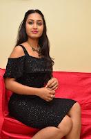 South Actress Amulya in short black dress at Kalamandir Foundation 7th anniversary Celebrations ~  Actress Galleries 039.JPG