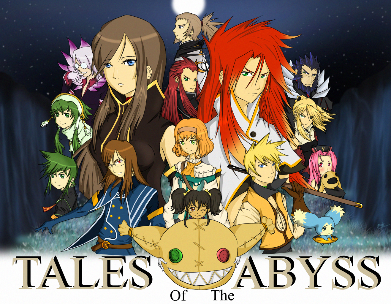 wallpaper abyss anime