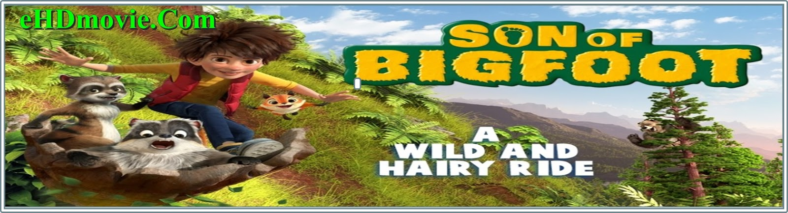 The Son of Bigfoot 2017 Full Movie English 720p - 480p ORG BRRip 350MB - 700MB ESubs Free Download