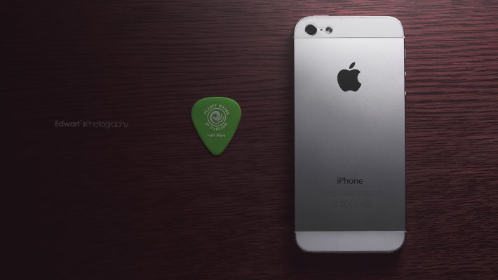 Wallpaper 2: iPhone 5 and Planet Waves