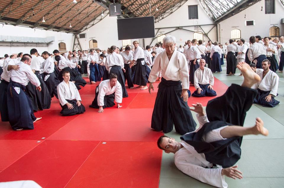 Moriteru Ueshiba. Photo by doshu2016.be.