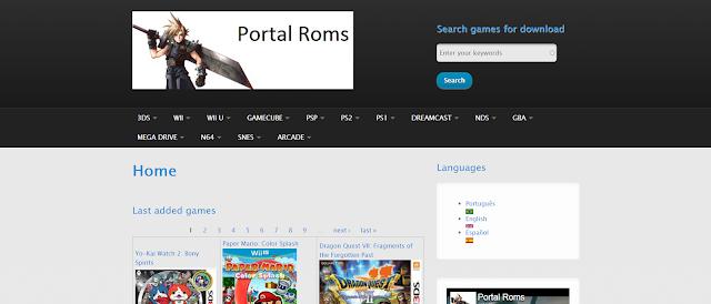 موقع portalroms