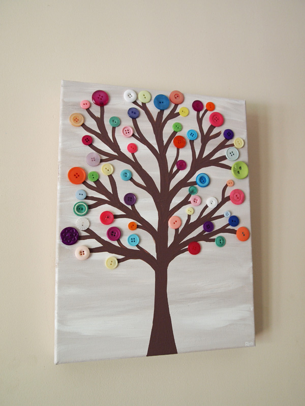 Wire Tree Wall Hanging Home Decor