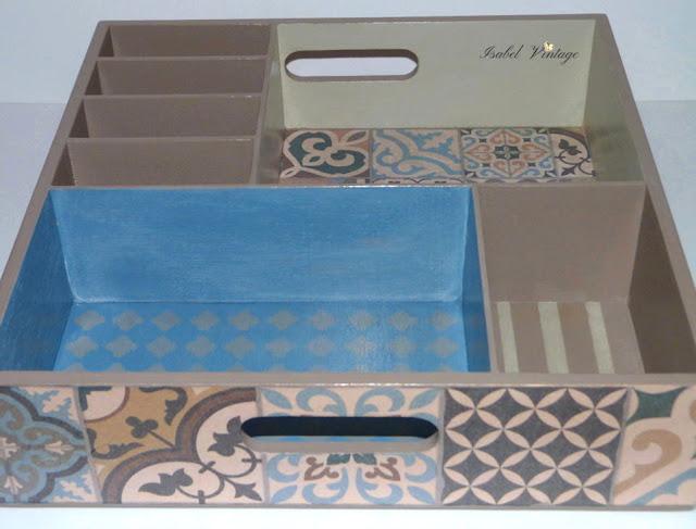 decorar-organizador-chalk-paint-estarcido-papel-arroz