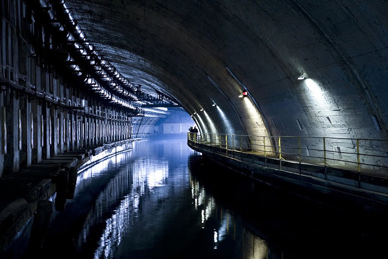 20. Abandoned Submarine Base in Balaklava, Ukraine - 31 Haunting Images Of Abandoned Places That Will Give You Goose Bumps