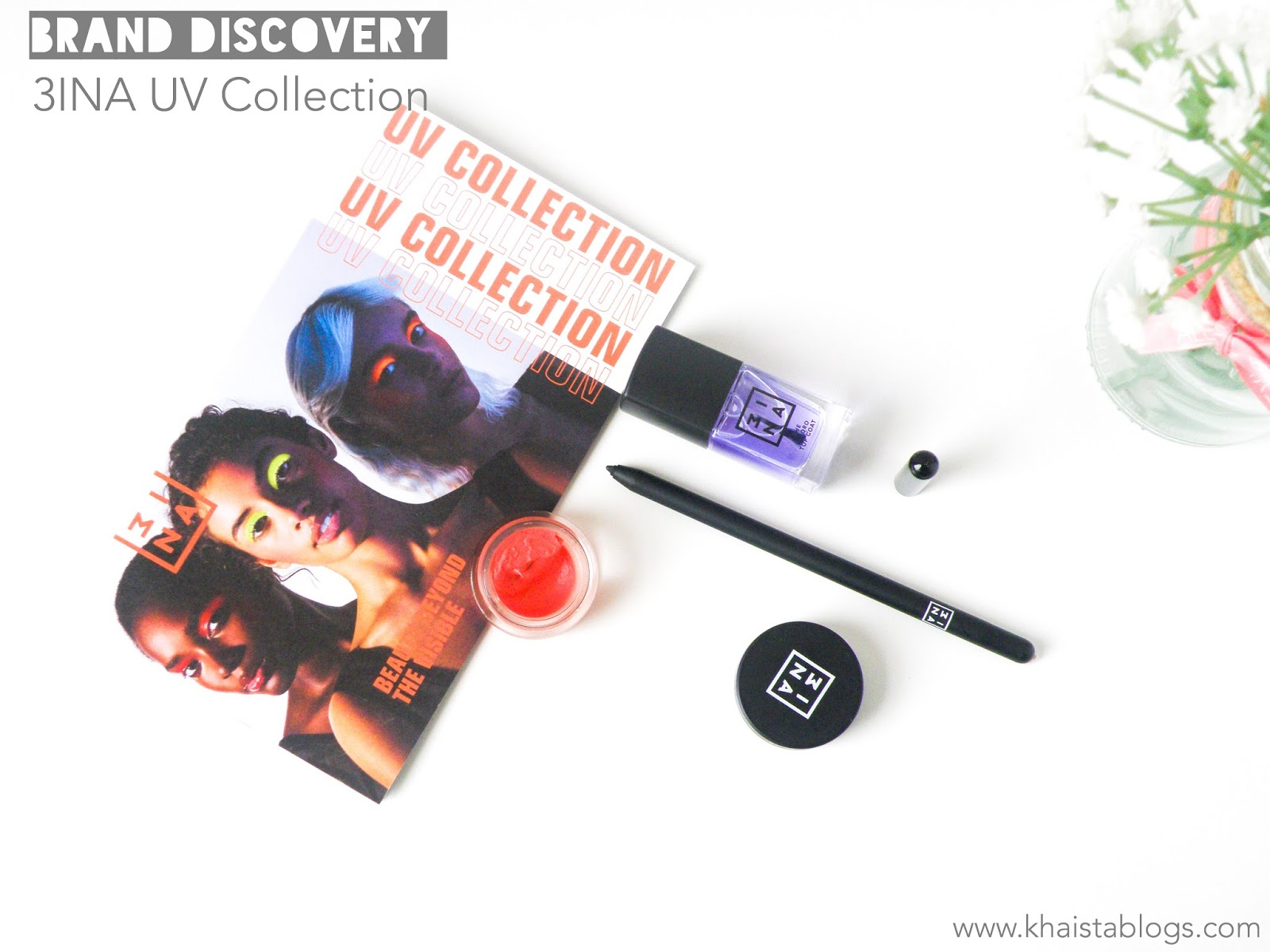 3ina uv makeup collection review