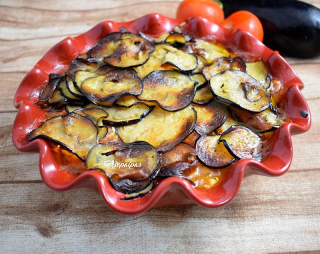 Berenjenas con Tomate (Aubergines aux Tomates)