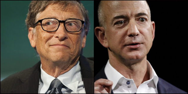 Jeff Bezos beats Bill Gates to become the world's richest man