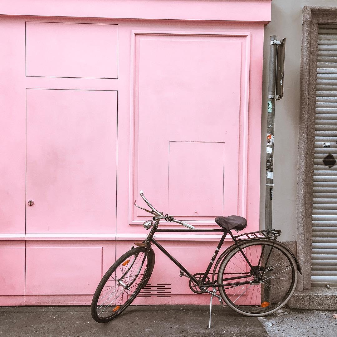 Graz, różowa piekarnia, Austria, Polka w Austrii, blog podróżniczy, blog lifestyle, styl życia