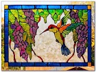 Stained GLASS WINDOW Decals Home