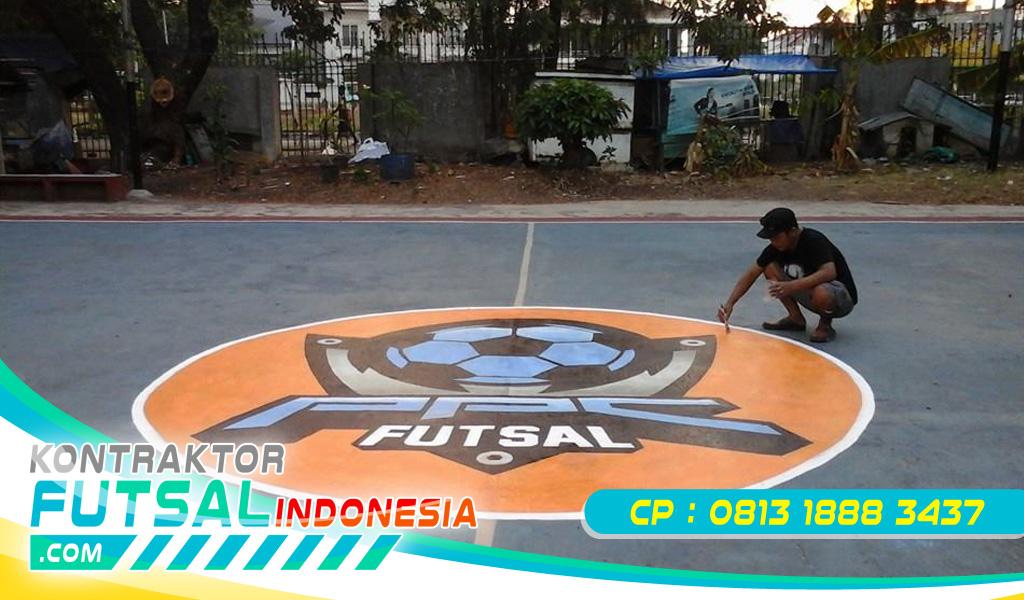 Cat Lantai Lapangan Badminton Akrilik