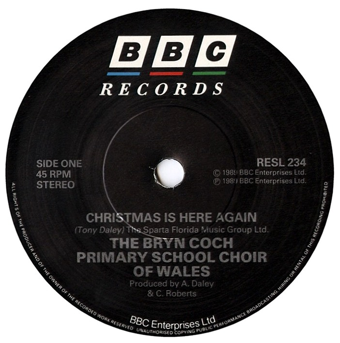 Tim Worthington's Newsround: Christmas With BBC Records ...
