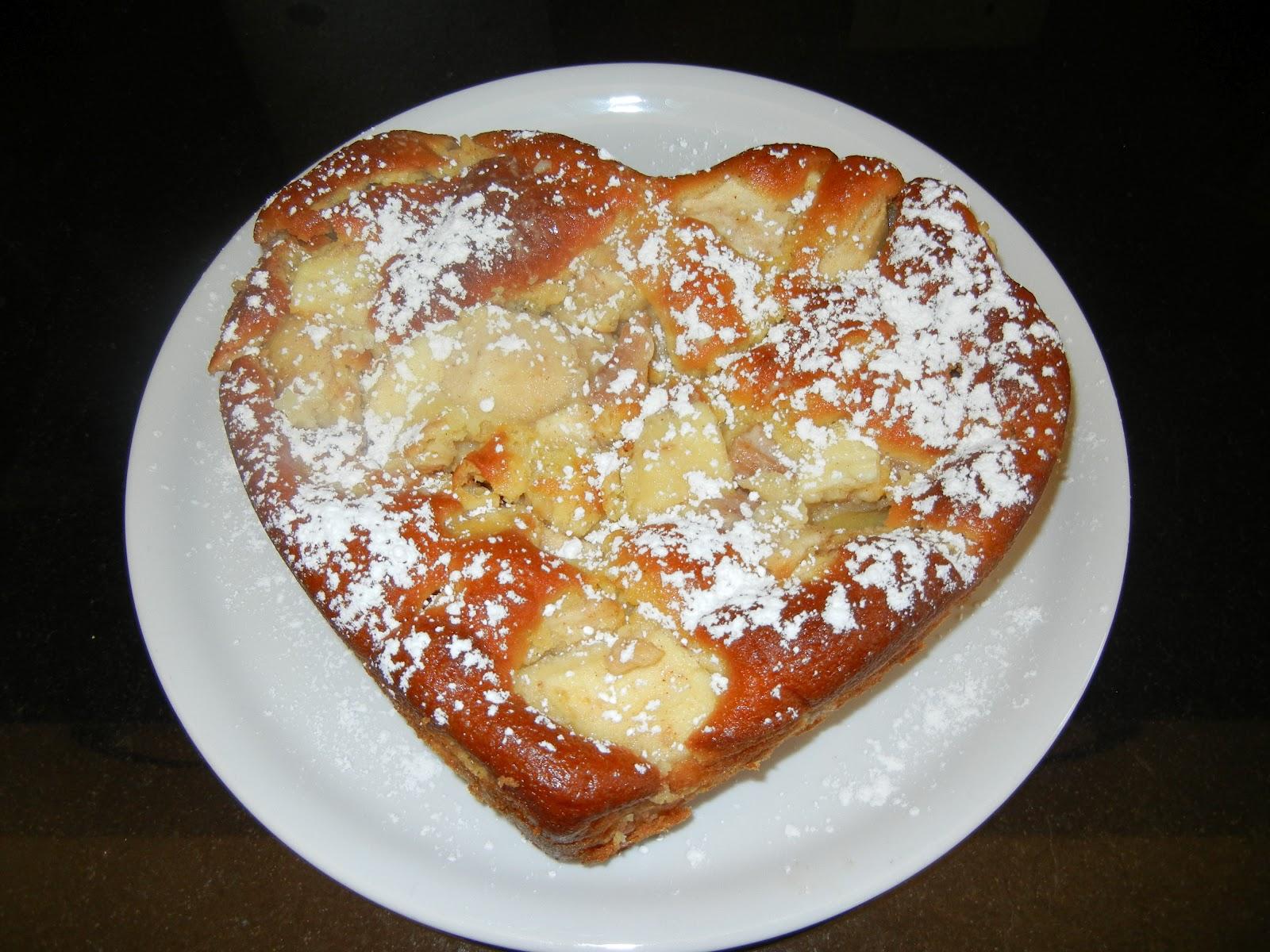 le ricette di valentinaricette KOUSMINE TORTA DI MELE AL