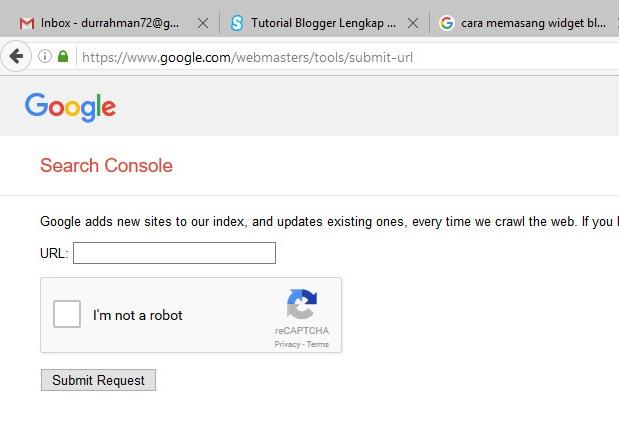 Cara agar artikel/postingan cepat terindex oleh google