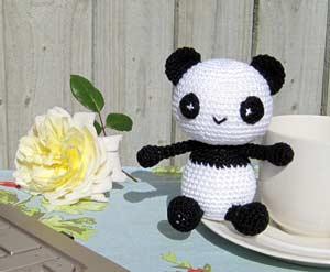 Kleine Panda Gratis Amigurumi Haakpatroon Amigurumi Haak