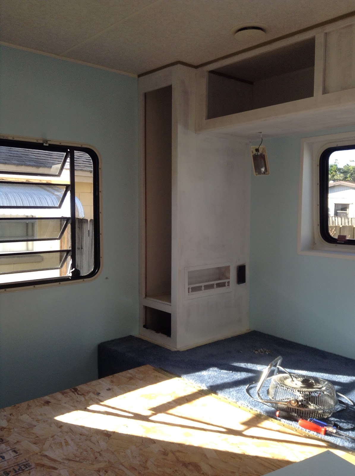 Bluebirds Nest Painting Rv Cabinets And Walls