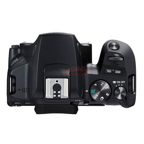 Canon EOS 200D II, вид сверху