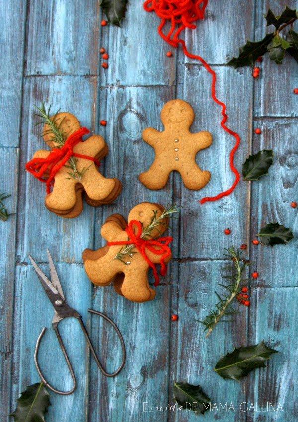 Honey and spices cookies