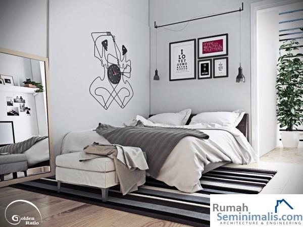 Contoh Gambar Kamar Tidur Minimalis
