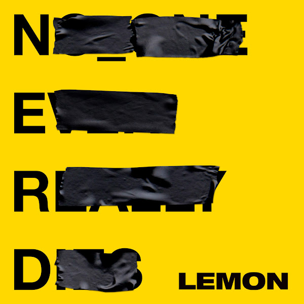 N.E.R.D & Rihanna - Lemon - Single Cover