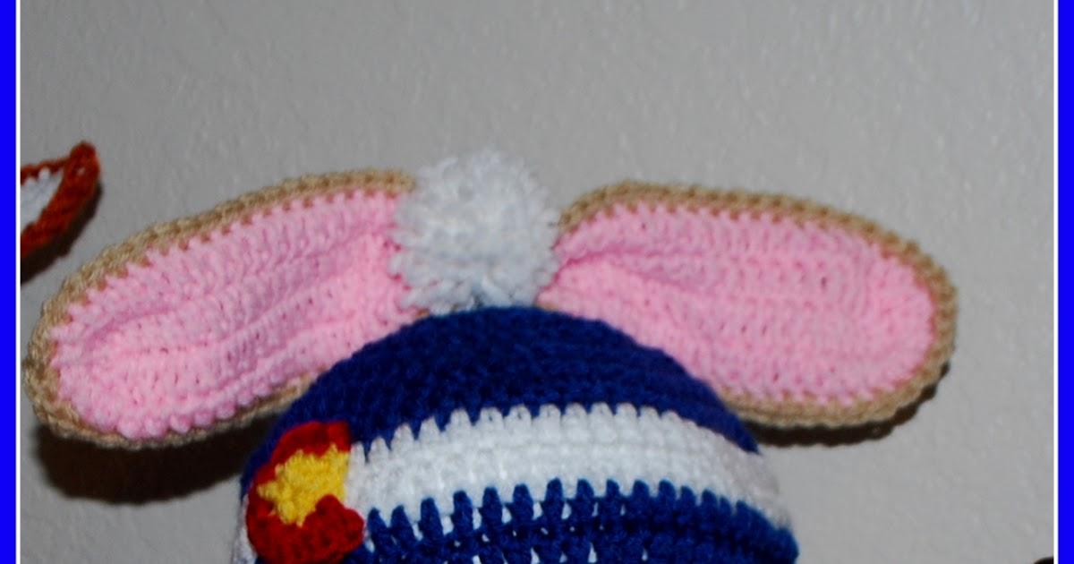 Posh Pooch Designs Dog Clothes: Colorado Bunny Beanie Hat ...