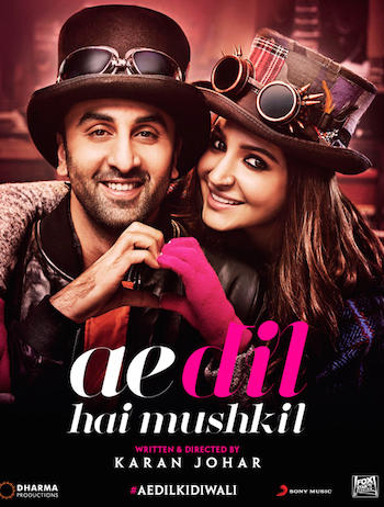 Ae Dil Hai Mushkil (2016) Worldfree4u - Hindi Movie DVDScr 400MB - Khatrimaza