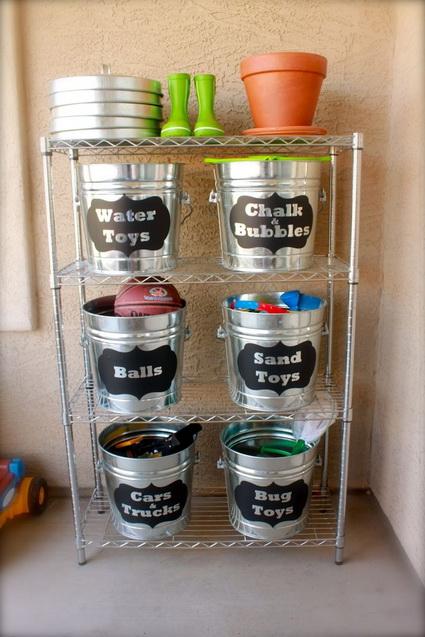 DIY Original And Inexpensive Toy Storage Ideas 2