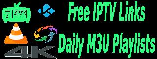 Free Daily M3U Playlist 22 December 2017