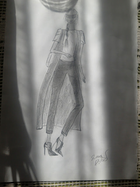 #pencildrawing #fashionillustration