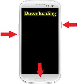 طريقة الدخول إلى وضع الـ Downloading mode