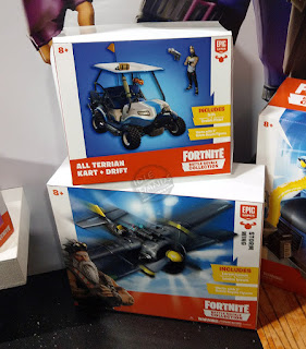 Toy Fair 2019 MOOSE Toys Fortnite Battle Royale Collection vehicles