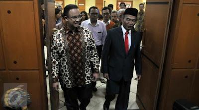 Muhadjir Effendy Resmi Jabat Mendikbud Gantikan Anies Baswedan