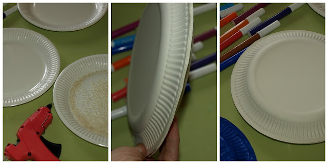 Χειροτεχνίες-με-χάρτινα-πιάτα