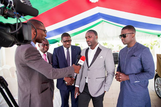 Akon lunched Lighting Africa project in Uganda